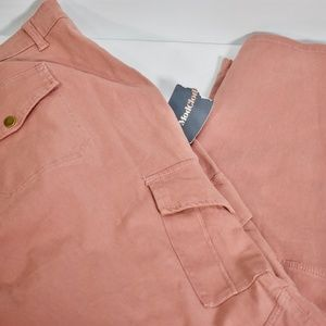 New Modcloth Blush Pink Cargo Pants 28